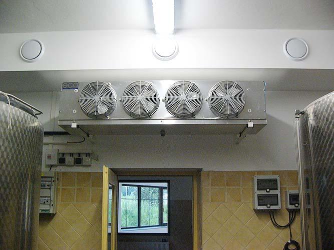 Kompletní dodávka chladírenských technologií